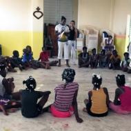 Capoeira ad Haiti. Il ritmo che libera Portrait image