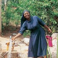 Suor Rufina, il sorriso dell'Africa Portrait image